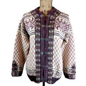 Dale of Norway Wool Cardigan Sweater  - N1421